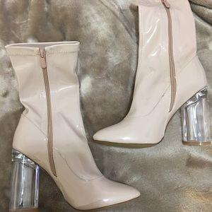 5d2b64e77b6 simmi shoes Shoes - Nude Simmi Shoes ankle boots